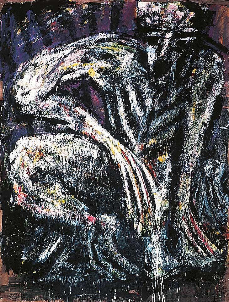 Norbert Klora, Junge Wilde Malerei 01, 1983