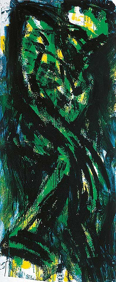 Norbert Klora, Junge Wilde Malerei 02, 1983