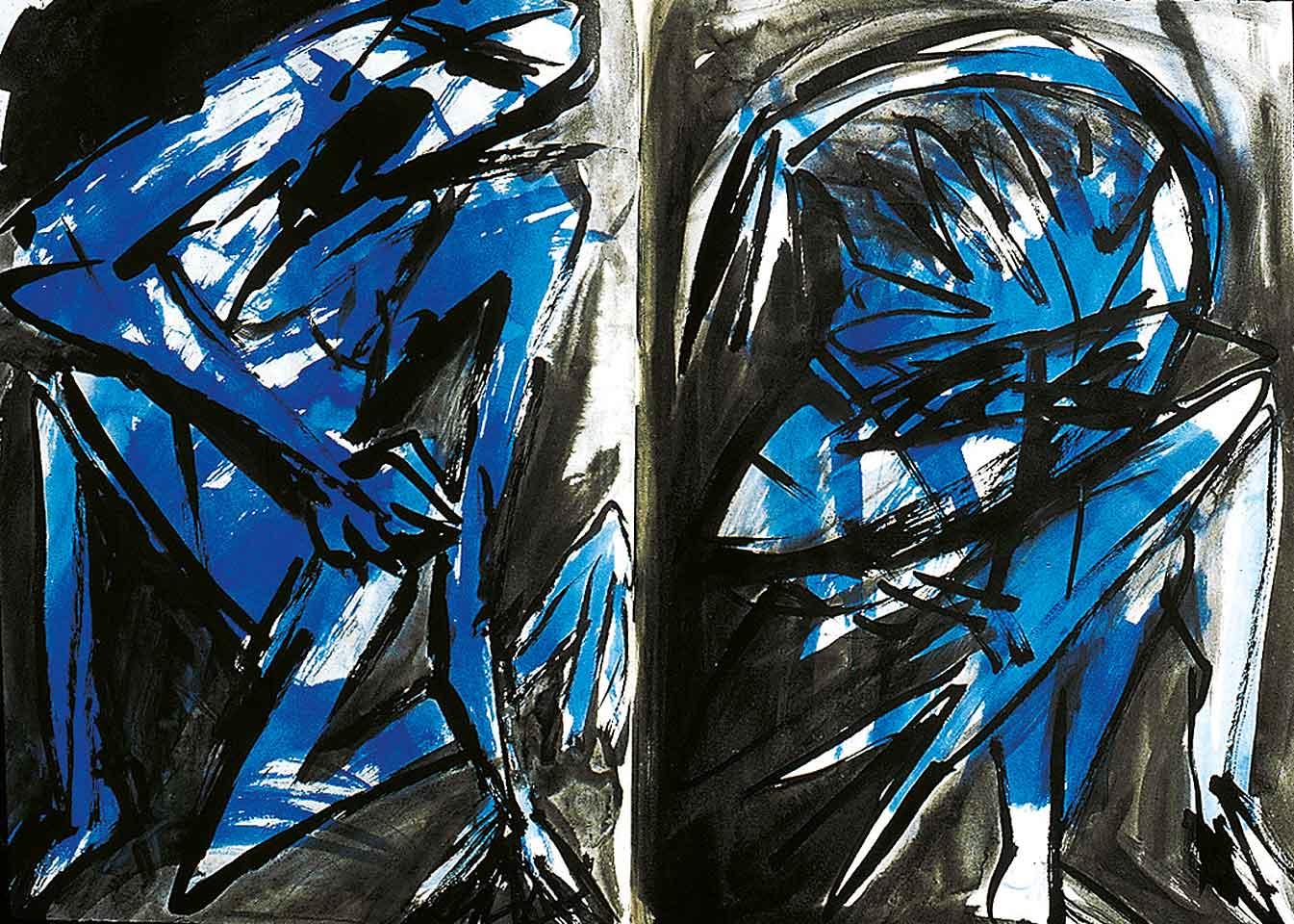Norbert Klora, Junge Wilde Malerei 06, 1983