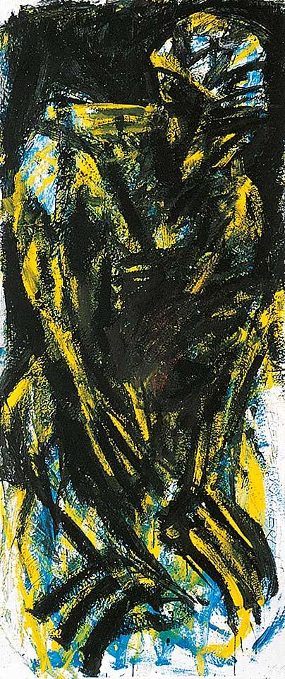Norbert Klora, Junge Wilde Malerei 07, 1983