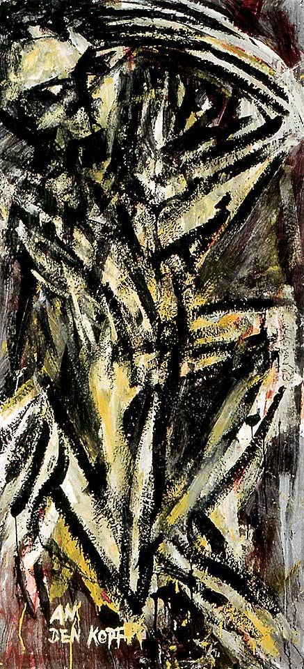 Norbert Klora, Junge Wilde Malerei 09, 1983