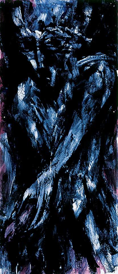 Norbert Klora, Junge Wilde Malerei 10, 1983