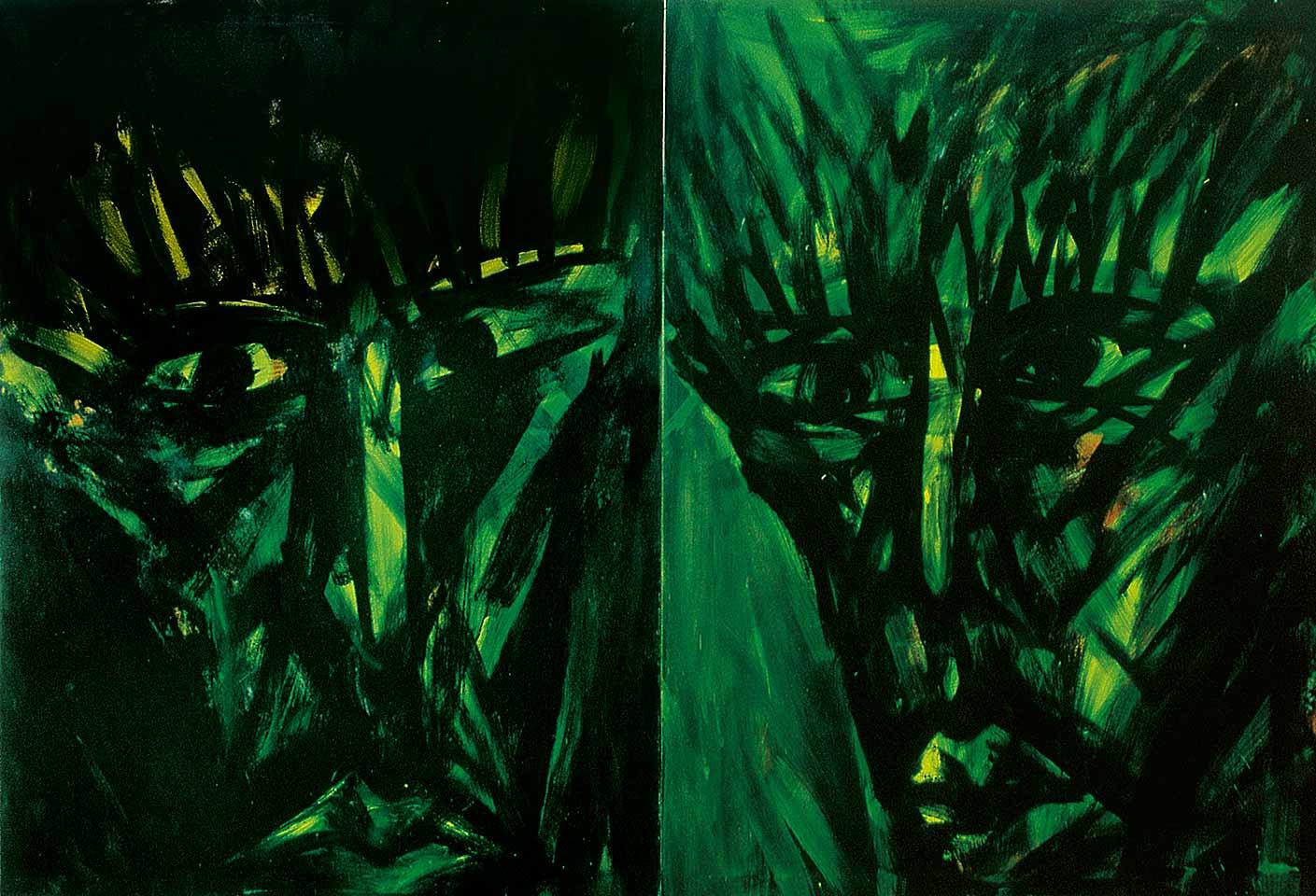 Norbert Klora, Junge Wilde Malerei 13, 1983