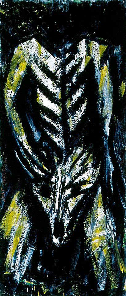 Norbert Klora, Junge Wilde Malerei 14, 1983