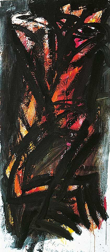 Norbert Klora, Junge Wilde Malerei 15, 1983