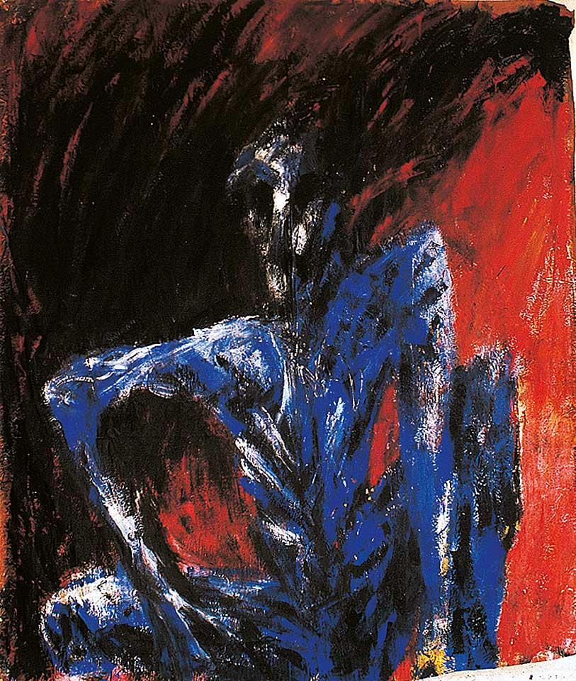 Norbert Klora, Junge Wilde Malerei 16, 1984