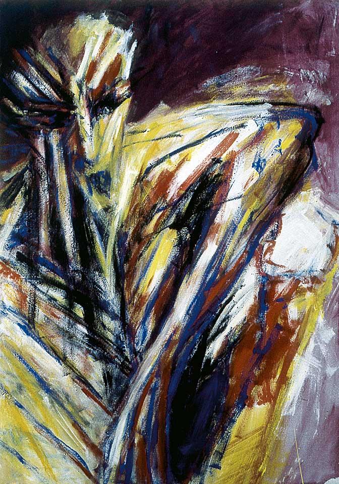 Norbert Klora, Junge Wilde Malerei 18, 1984