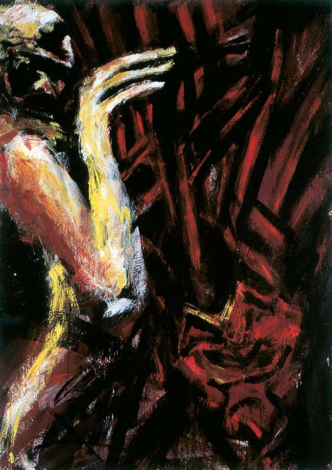 Norbert Klora, Junge Wilde Malerei 20, 1984