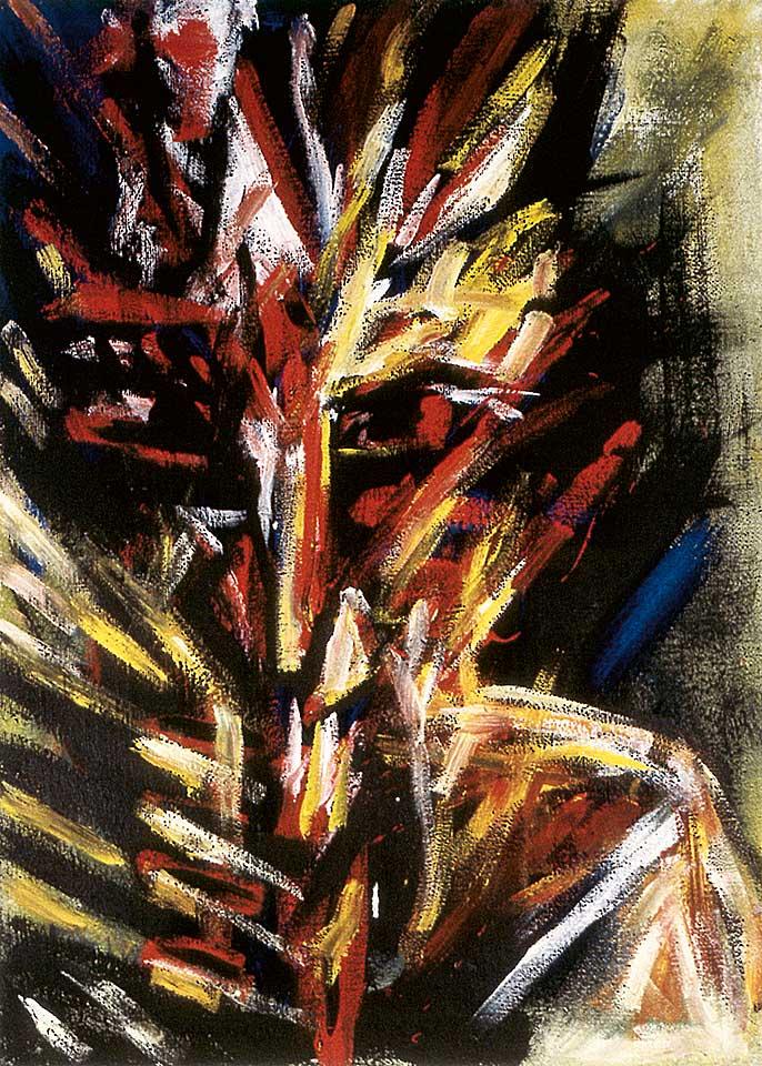 Norbert Klora, Junge Wilde Malerei 21, 1984
