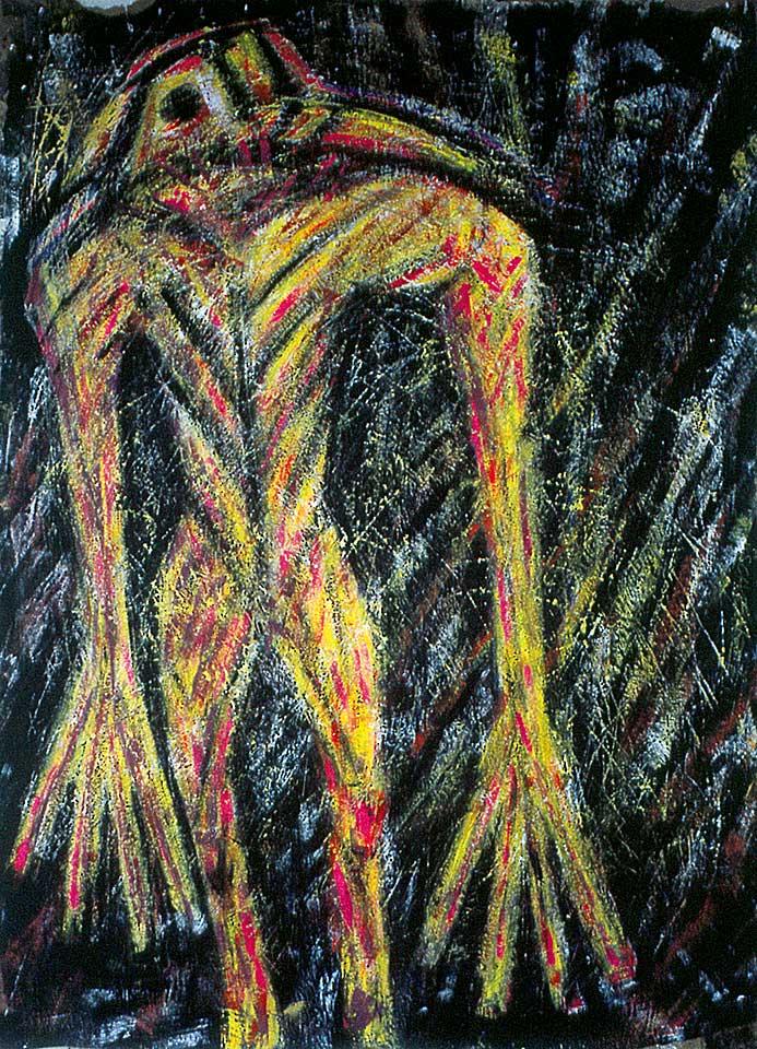 Norbert Klora, Junge Wilde Malerei 22, 1984