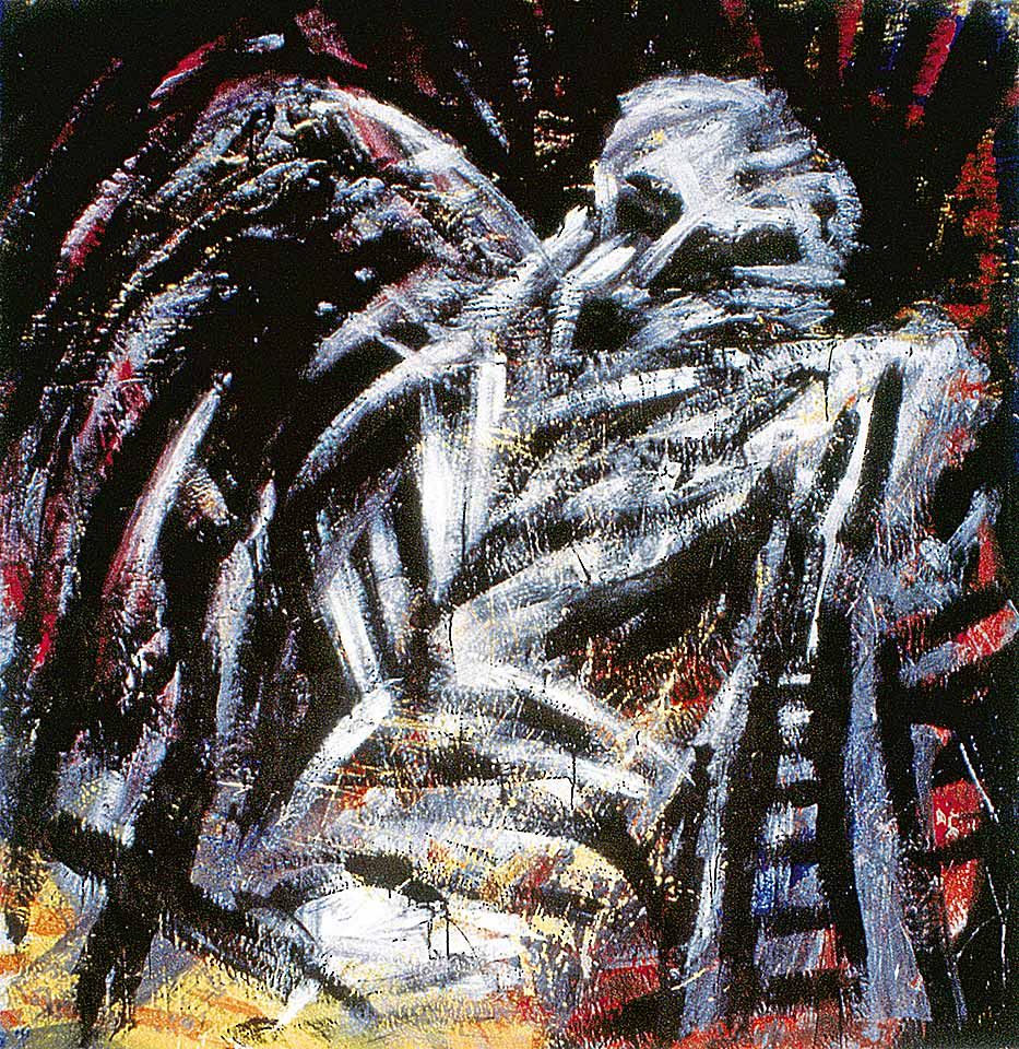 Norbert Klora, Junge Wilde Malerei 23, 1984